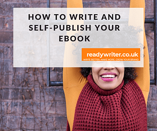 How to write and self-publish your book